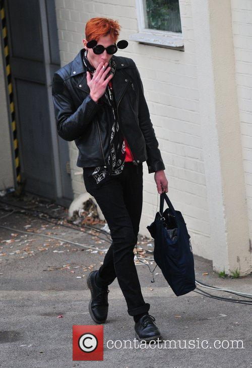 Nicolo Festa arrives at 'The X Factor' studios...