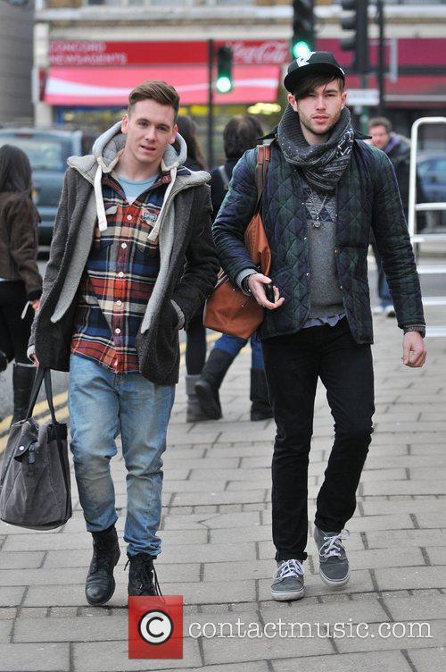 Guests arrives at 'The X Factor' studios ahead...