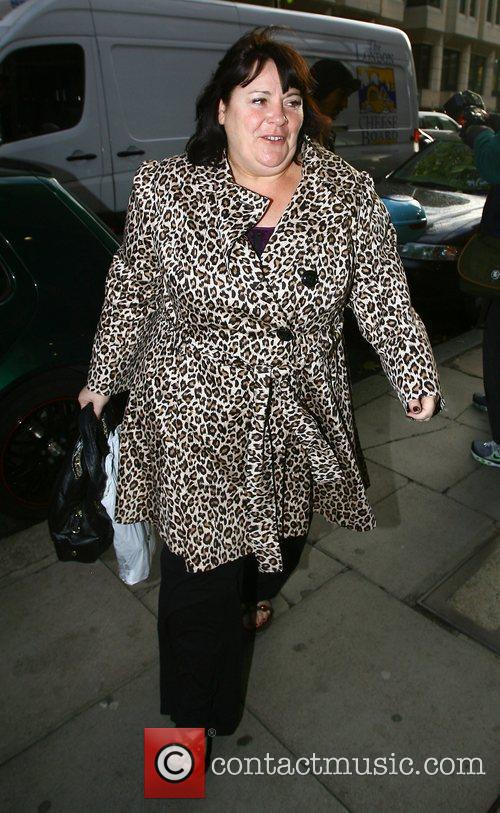 'X Factor' finalist Mary Byrne arriving at the...
