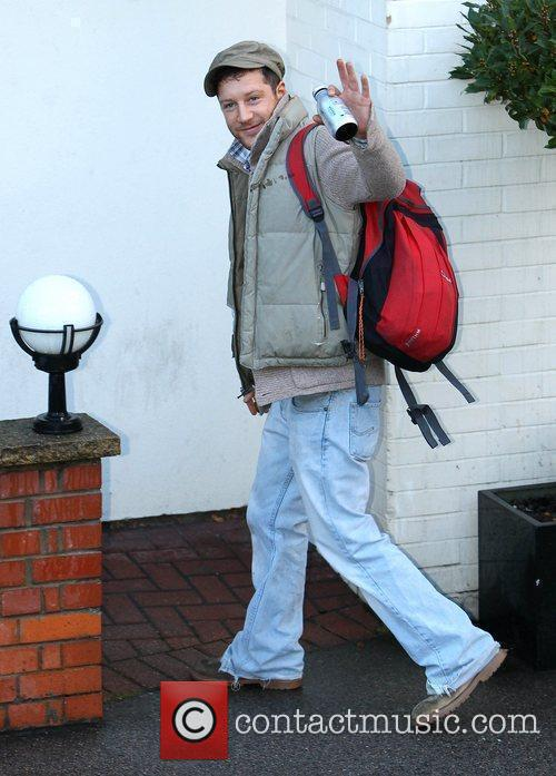 Matt Cardle 'The X Factor' contestants arrive at...