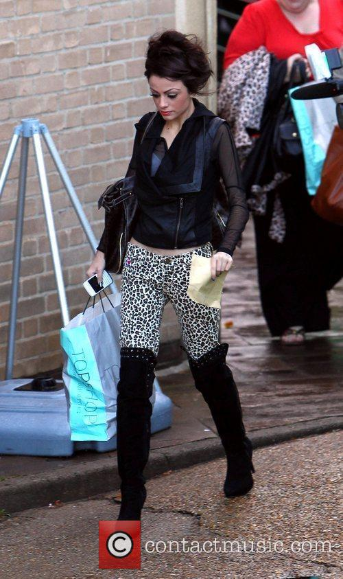 Cher Lloyd 'The X Factor' contestants arrive at...