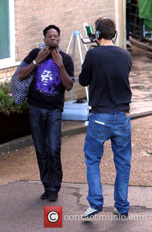 John Adeleye 'The X Factor' contestants arrive at...
