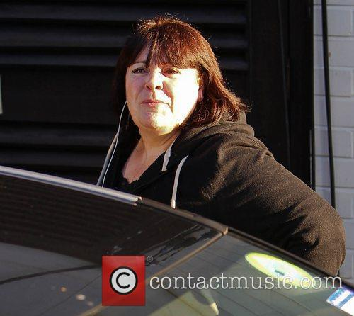 Mary Byrne 'The X Factor' finalists arrive at...