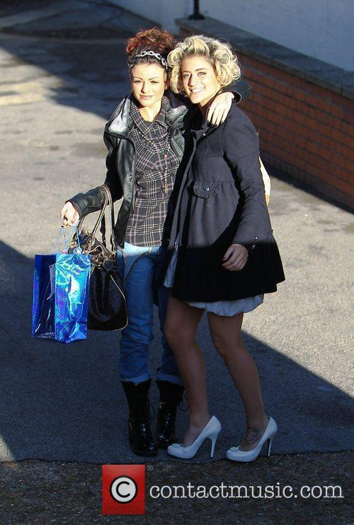 Cher Lloyd and Katie Waissel 'The X Factor'...