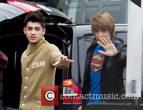Zain Malik and Liam Payne from boy band...