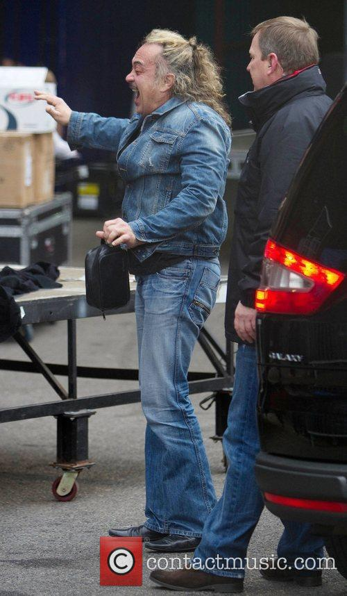 'The X Factor' finalists arrive at the studios...