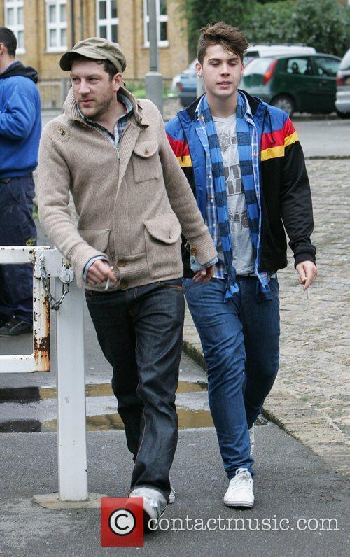 Matt Cardle and Aiden Grimshaw The 'X Factor'...