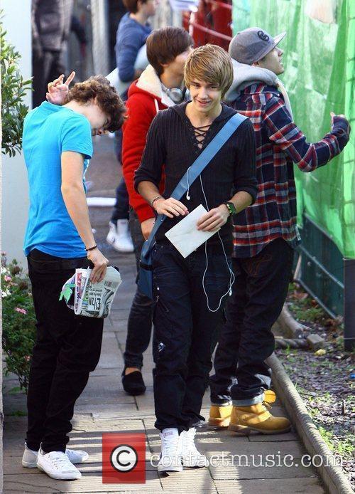 Zain Malik, Harry Styles, Louis Tomlinson and Liam...
