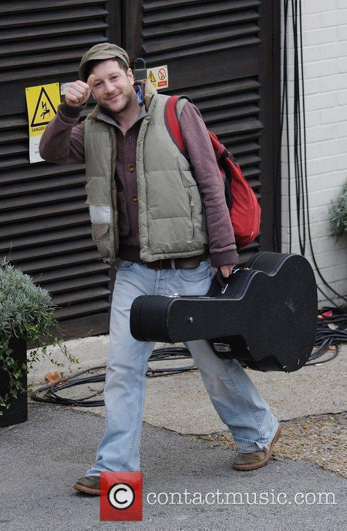 X Factor finalist Matt Cardle arriving at a...