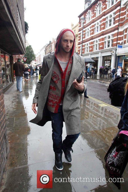 Brian Friedman visiting a gym about in Central...