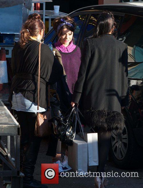 Cher Lloyd and Rebecca Ferguson  The X...