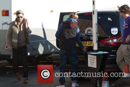 Matt Cardle and X Factor finalist Niall Horan...