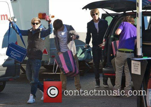 X Factor finalist Niall Horan,Liam Payne, Louis Tomlinson,...