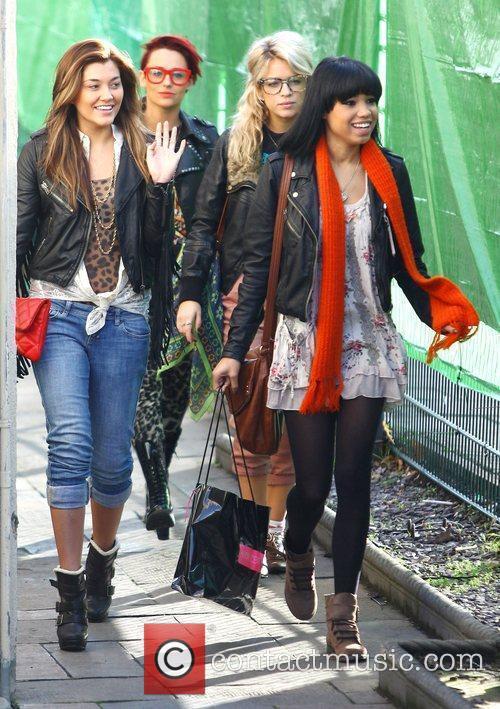 Geneva Lane, Rebecca Creighton, Sophia Wardman and Esther...