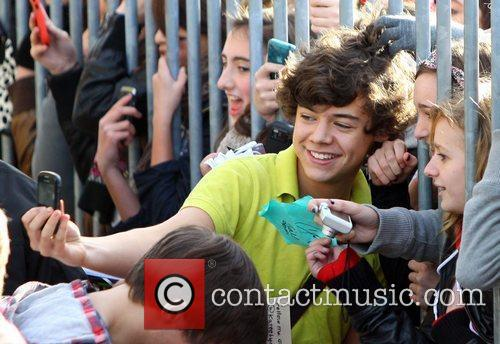 Harry Styles of One Direction 'The X Factor'...