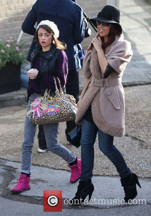 Cher Lloyd and Rebecca Ferguson 'The X Factor'...