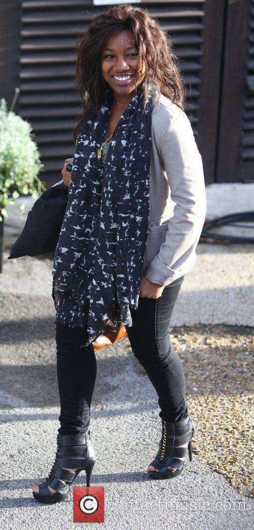 Treyc Cohen 'The X Factor' finalists arrive at...