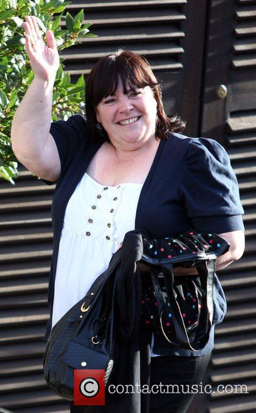 Mary Bryne  'The X Factor' finalists arrive...