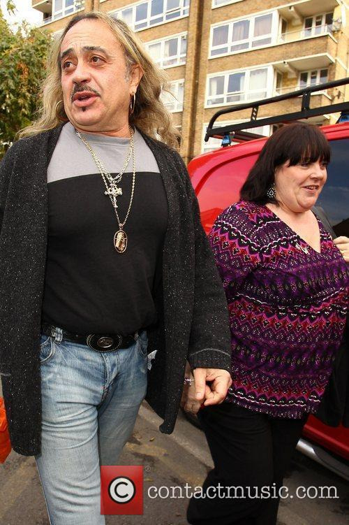 'X Factor' finalist Wagner Carrilho and Mary Byrne...