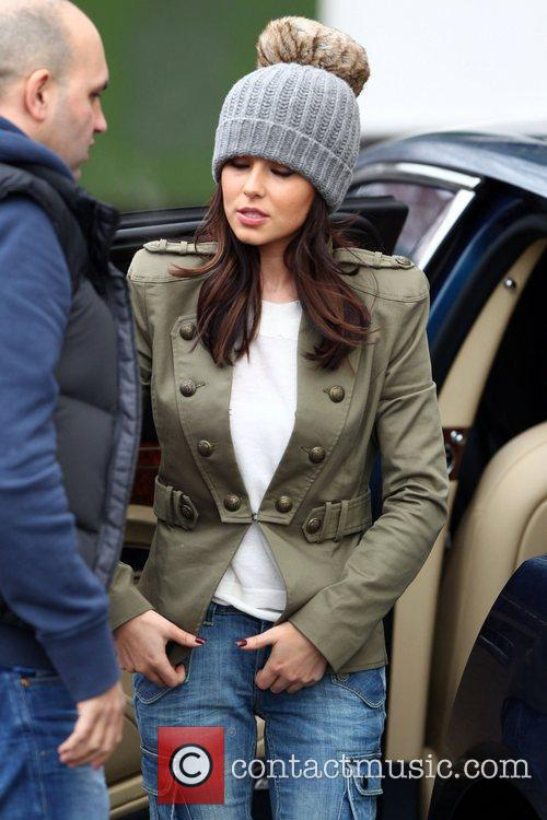 Cheryl Cole arrives at 'The X Factor' studios...