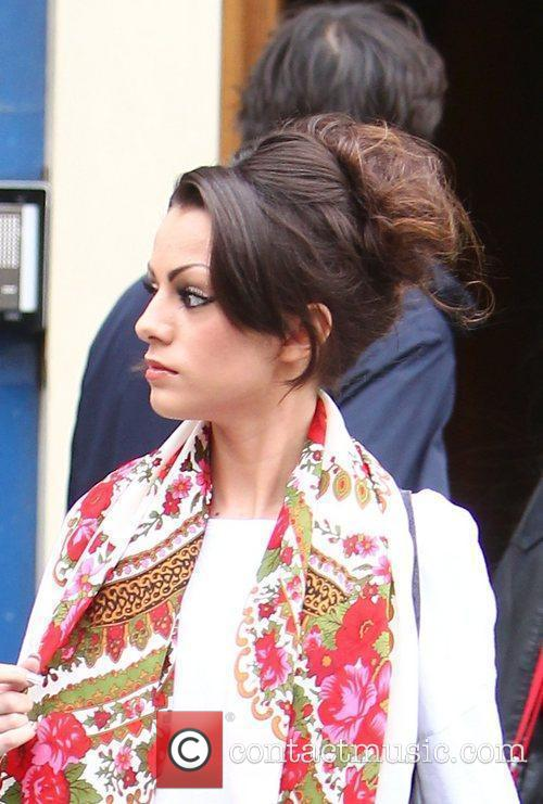 X Factor contestant Cher Lloyd arrives at a...