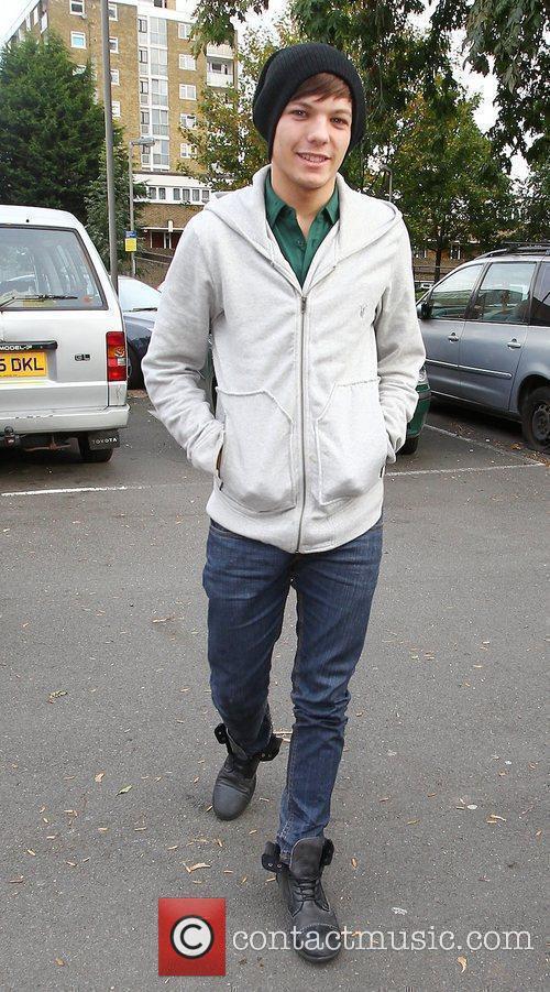 X Factor finalist Louis Tomlinson of boy band...
