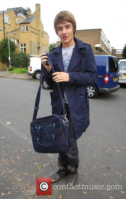 X Factor finalist Liam Payne of One Direction...