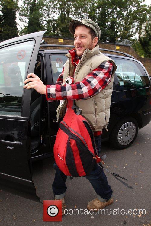 X Factor finalist Matt Cardle  arriving at...
