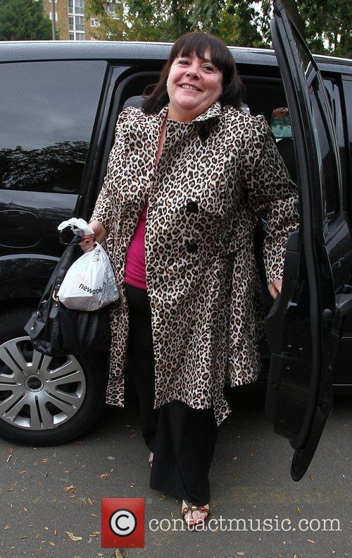 X Factor finalist Mary Byrne arriving at the...