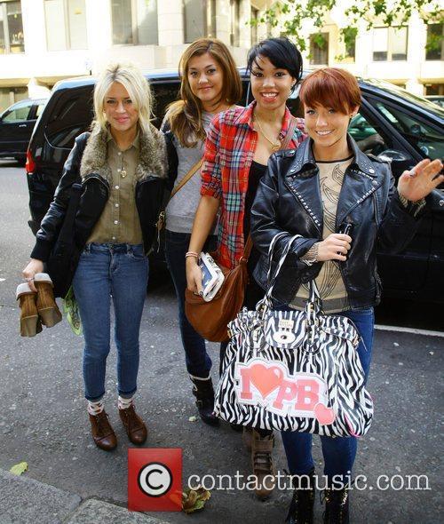 X Factor contestants Sophia Wardman, Geneva Lane, Esther...