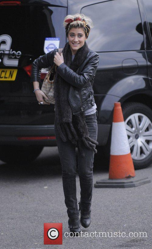 X Factor finalist Katie Waissel arriving at Fountain...