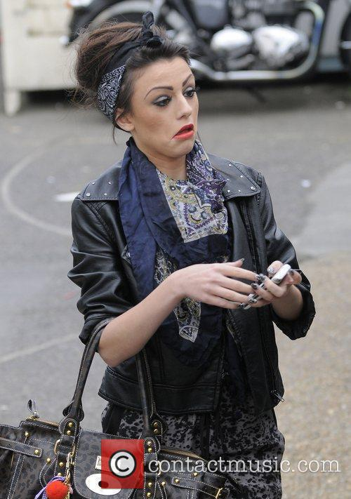X Factor finalist Cher Lloyd arriving at Fountain...