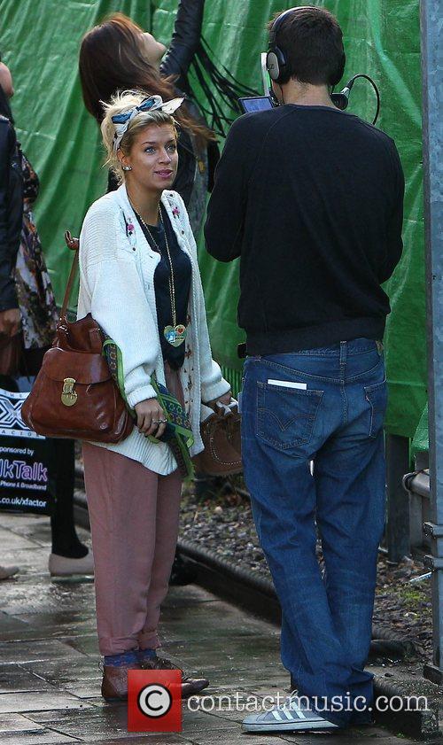 Sophia Wardman of Belle Amie 'The X Factor'...