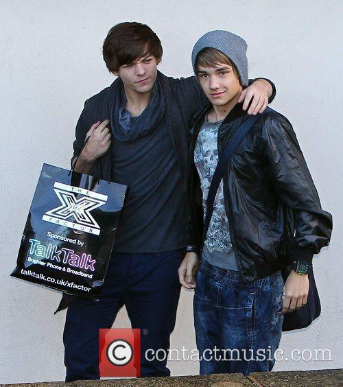 Louis Tomlinson and Liam Payne of One Direction...