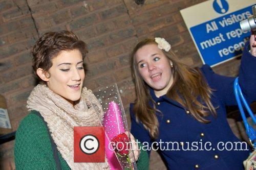 Katie Waissel  X Factor Finalists at the...