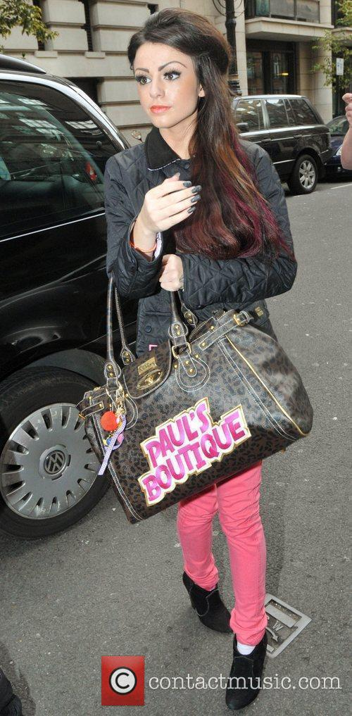 'X Factor' finalist Cher Lloyd outside the May...
