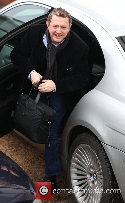 Arrives at 'The X Factor' studios