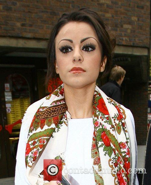 X Factor contestant Cher Lloyd goes for a...