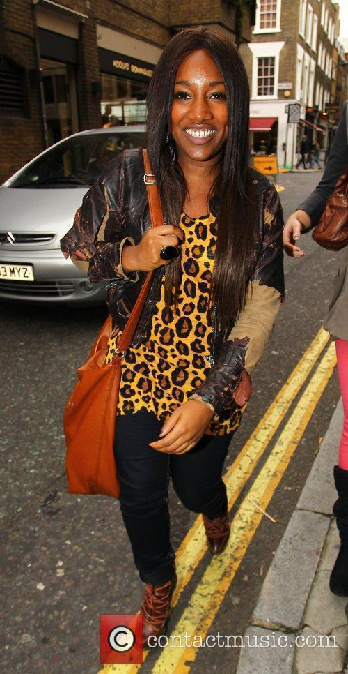 Treyc Cohen X Factor Finalists out and about...