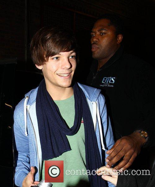 Louis Tomlinson of One Direction X Factor Finalists...