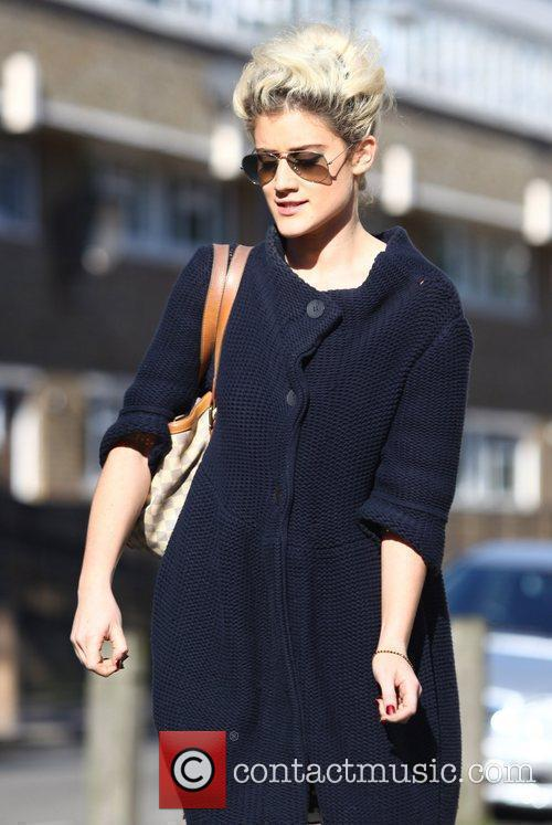 X Factor contestant Katie Waissel going to the...