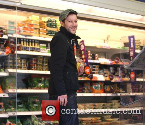 X Factor contestant Matt Cardle at the supermarket...