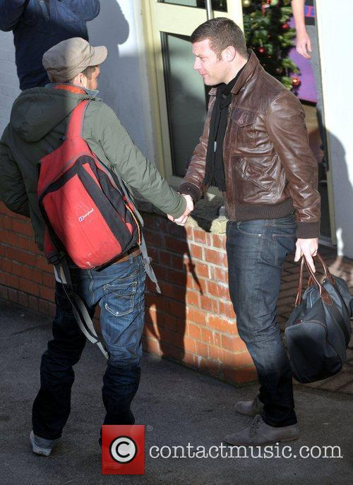 Matt Cardle and Dermot O'Leary arrives at 'The...