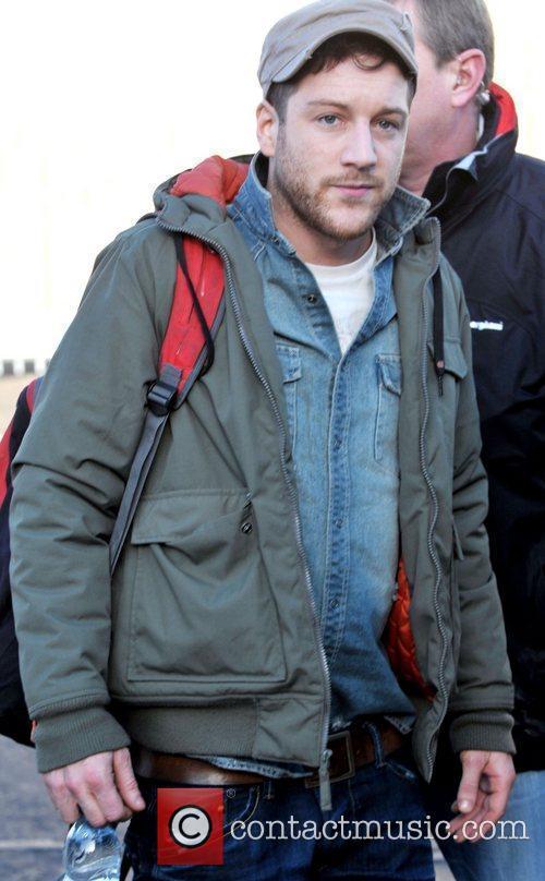 Matt Cardle arrives at 'The X Factor' studios...
