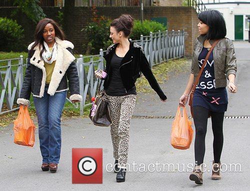 'X Factor' finalists Treyc Cohen, Cher Lloyd and...