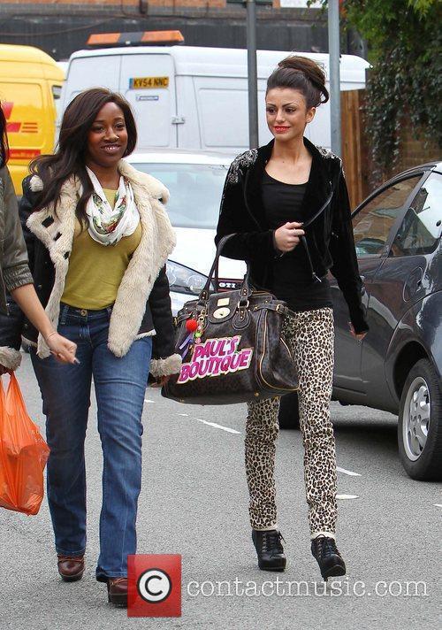 'X Factor' finalists Treyc Cohen and Cher Lloyd...