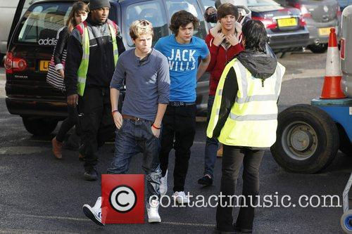 Members of One Direction, Niall Horan, Harry Styles,...