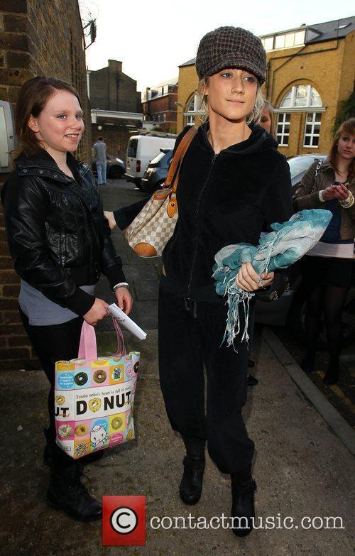 Katie Waissel  X Factor contestants arrive at...