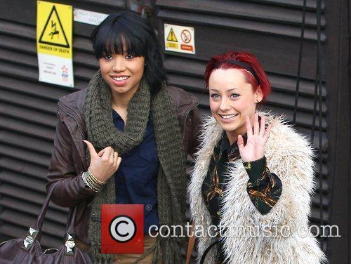 Rebecca Creighton and Esther Campbell arrives at 'The...