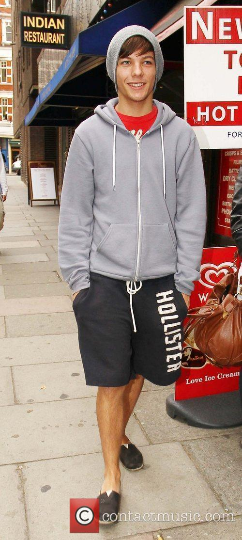 X Factor contestant Louis Tomlinson of boy band...